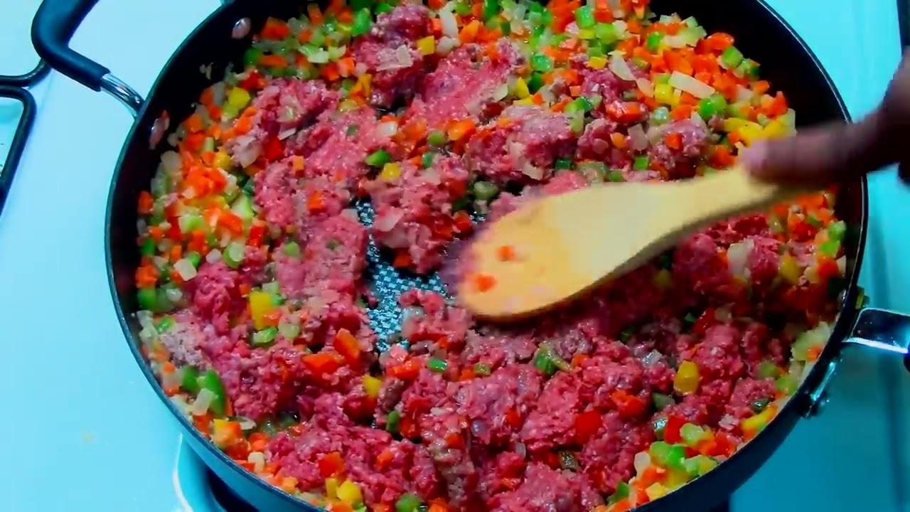Espaguetis A La Boloñesa Receta De Pasta Con Salsa Roja Y Carne Youtube