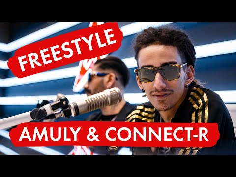 AMULY & CONNECT-R - FREESTYLE SESSION - LIVE @Virgin Radio Romania