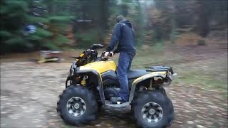 HMF Dual Exhaust : Can Am Renegade 1000 (Sound Test)