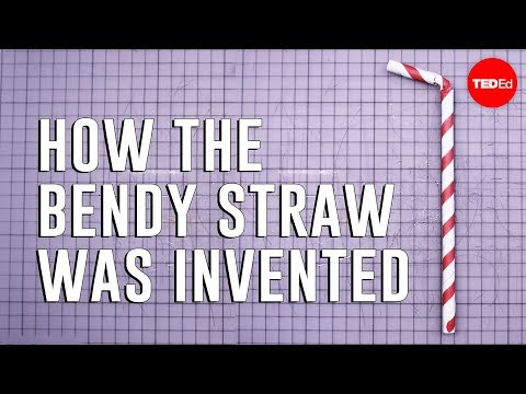 Video image: How the bendy straw was invented   Moments of Vision 12 - Jessica Oreck