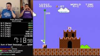 (10:57) Super Mario Bros. any% (coop darbian / lackattack24)