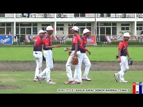2018 Little League ASPAC Sr Baseball Finals CNMI vs Philippines