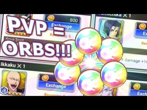 Bleach Brave Souls: Dica para ganhar ORBS usando moedas do PvP!!! Personagens de Medal!!! - Omega Play