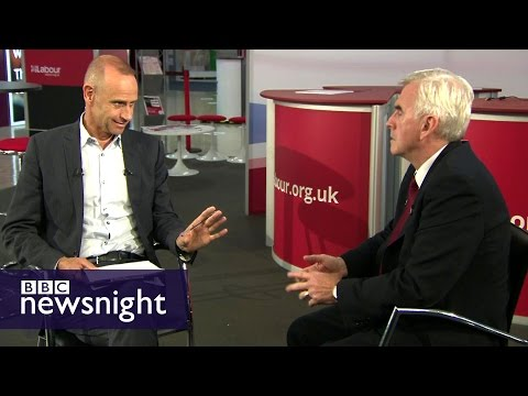 The John McDonnell Interview - Newsnight