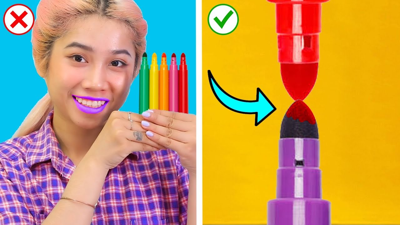 Opps...Back To School Life Hacks: Fun and Useful DIY School Supply Ideas