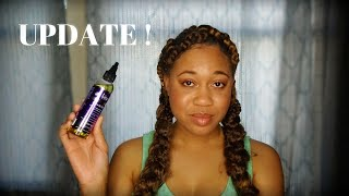The Mane Choice Growth Oil UPDATE ! Natural Hair Product Euniycemari