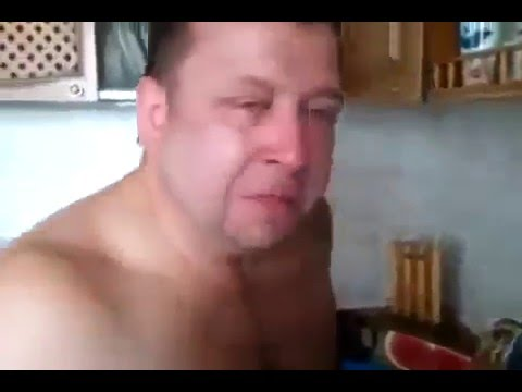 Мужик плачет! отпрашивается у жены пить водку