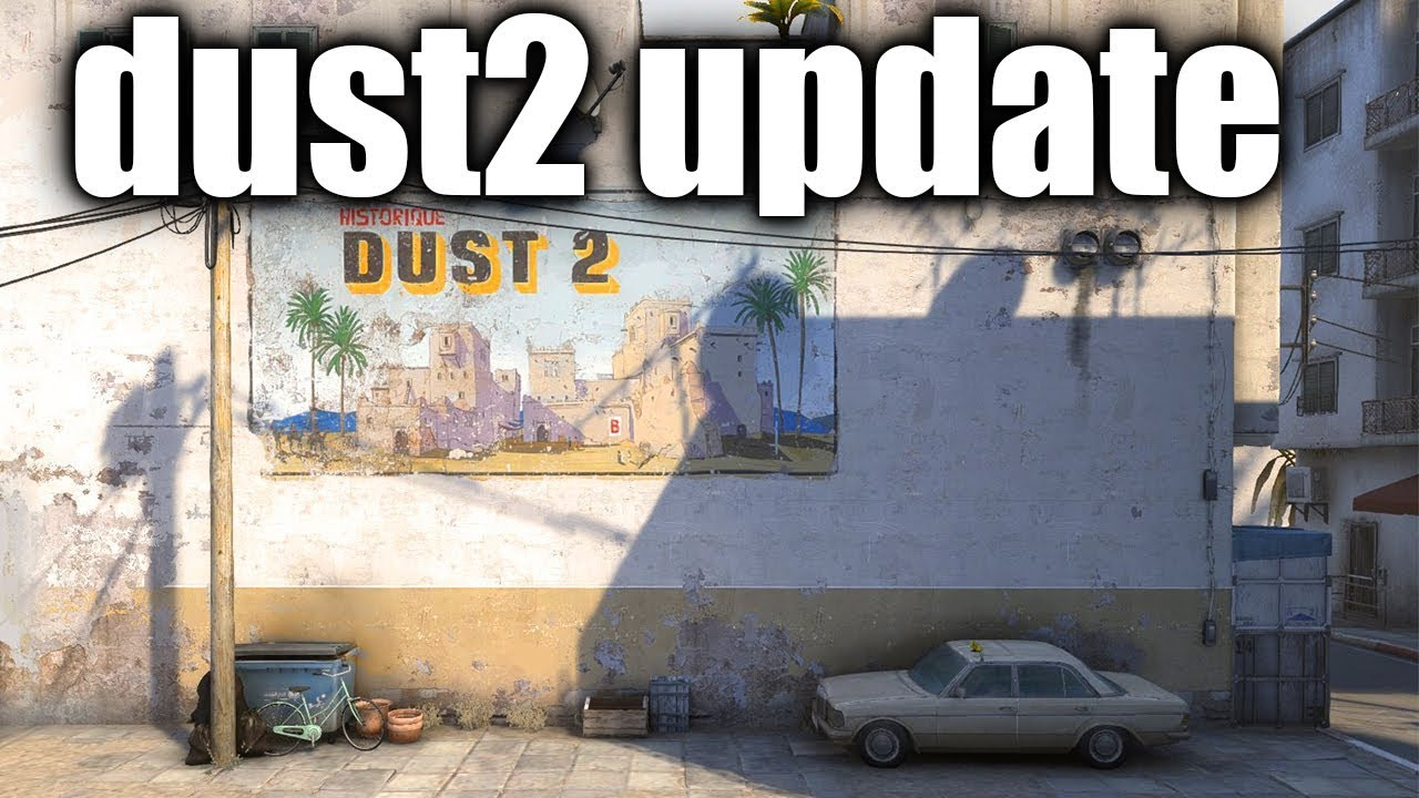 NEW de_dust 2 Remake coming to CSGO - Upcoming Content of Counter-Strike - The developers confirmed that the updated and remade version of de_dust2 is comeing out soon for CS:GO!