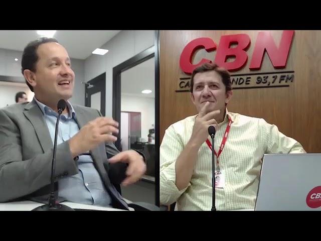 Entrevista CBN Campo Grande: Walter Carneiro Jr. -  presidente Sanesul
