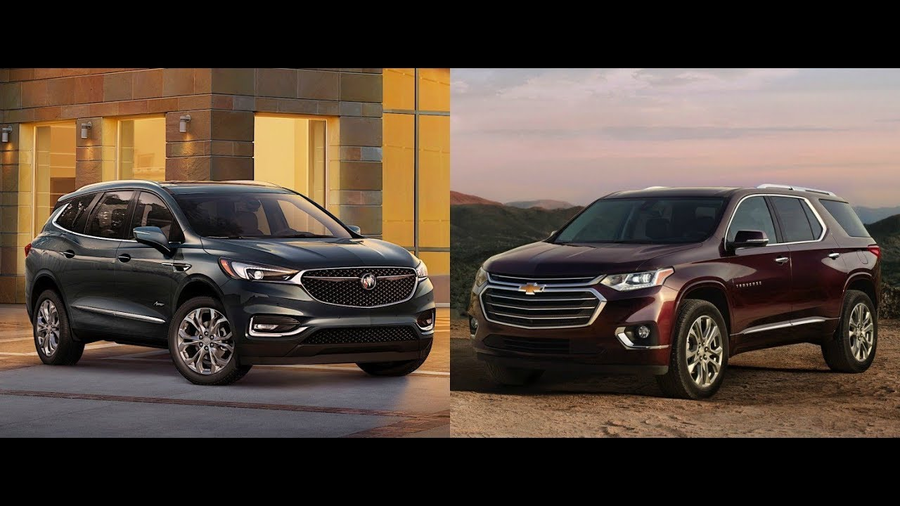 2018 chevrolet traverse vs buick enclave 2018 youtube. Black Bedroom Furniture Sets. Home Design Ideas