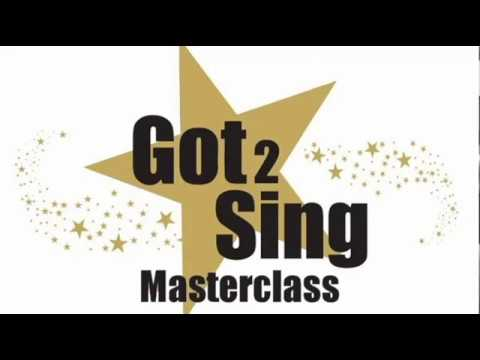 Got 2 Sing Masterclass - With You from Ghost