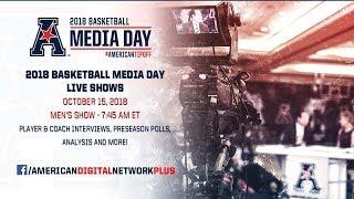 2018 American Men's Basketball Media Day Live Show
