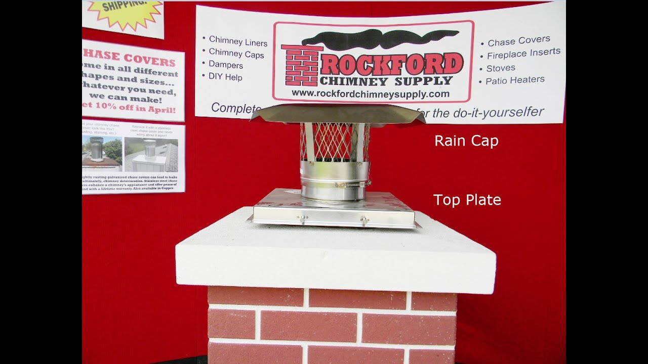 Top Plate Amp Chimney Rain Cap Options For Rock Flex Chimney