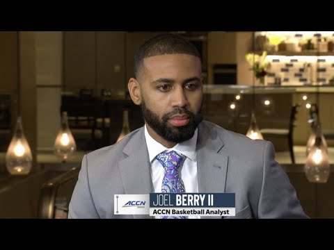 Video: Joel Berry joins Packer and Durham at ACC Tipoff