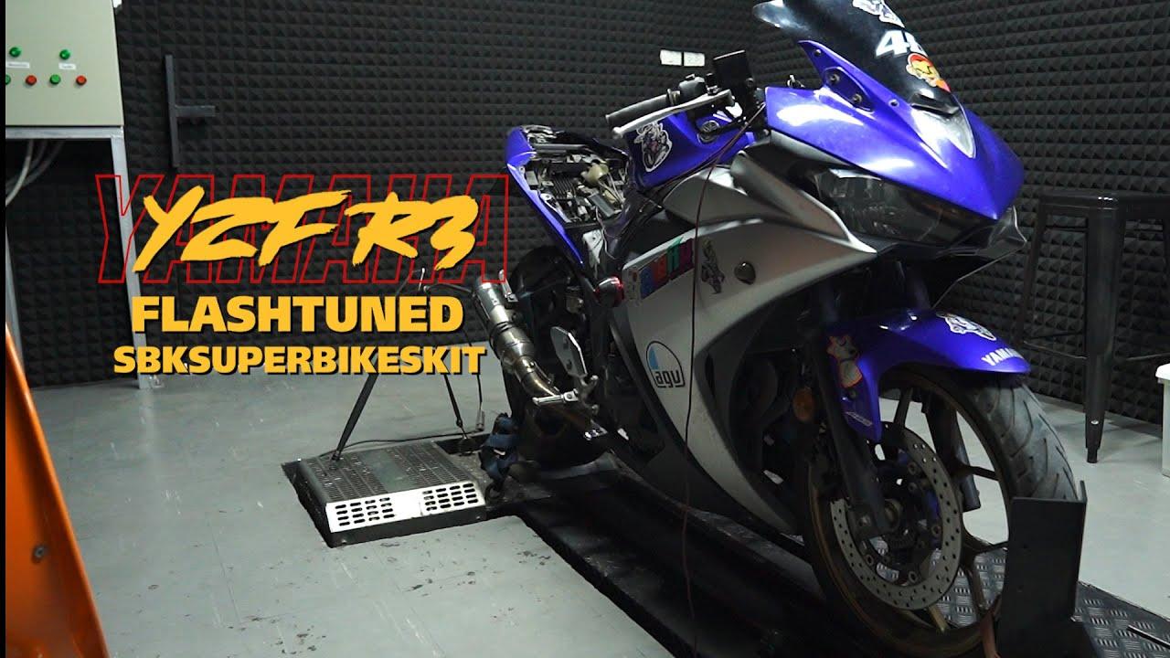 Yamaha YZF-R3 สามารถแฟลชได้เหมือนกัน แล้วจะแรงแค่ไหน มาชมกันครับ