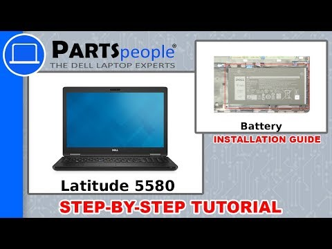 Dell Latitude 5580 (P60F001) Battery How-To Video Tutorial