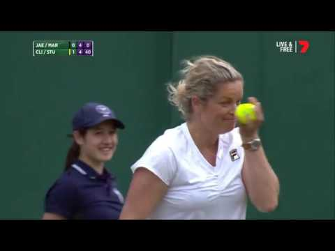 FUNNIEST MOMENT IN TENNIS AT WIMBLEDON ... EVER | Armchair Athlete Given A Chance To Prove Himself