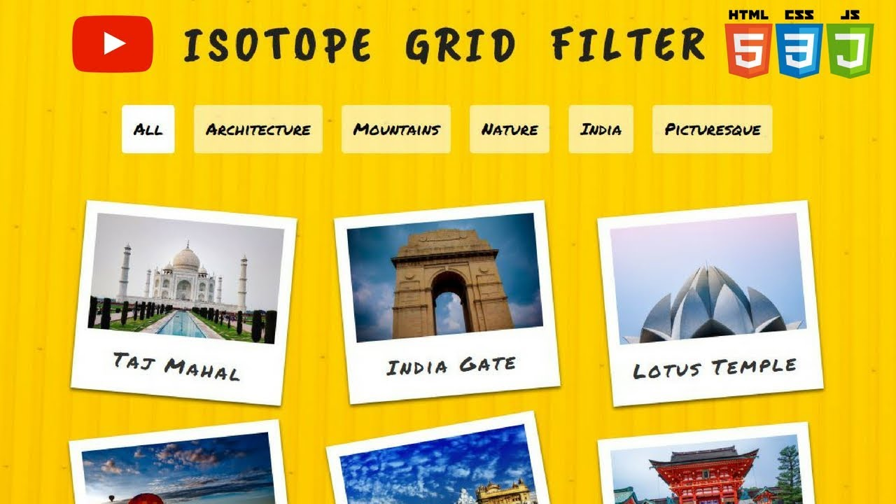 How to use Isotope Grid Filter (2018) | Isotope Plugin | Category