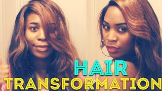 Kenya Moore Wig Wash and Relay | Hair Transformation Thumbnail