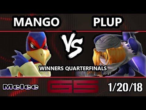GENESIS 5 SSBM - C9 | Mango (Falco) VS PG | Plup (Sheik) - Smash Melee WQF