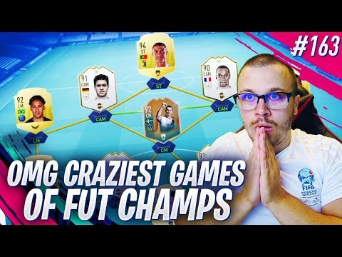 FIFA 19 OMG I ALMOST CRACKED BECAUSE OF THESE CRAZY GAMES in FUT CHAMPIONS!