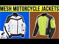 10 Best Mesh Motorcycle Jackets 2019