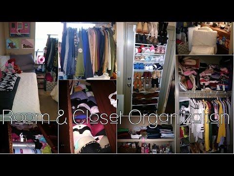 Clothing Organization & Dorm Room Tour | NCCU Eagle Landing