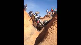 Clay Egan Roll Over on The Maze, St. George, UT 2014