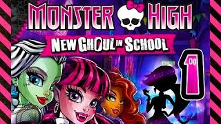☆ Monster High: New Ghoul In School Walkthrough Part 1  Ps3, Wii, X360  Full Gameplay ☆