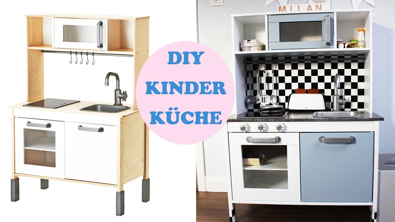 IKEA KINDERKÜCHE PIMPEN - YouTube