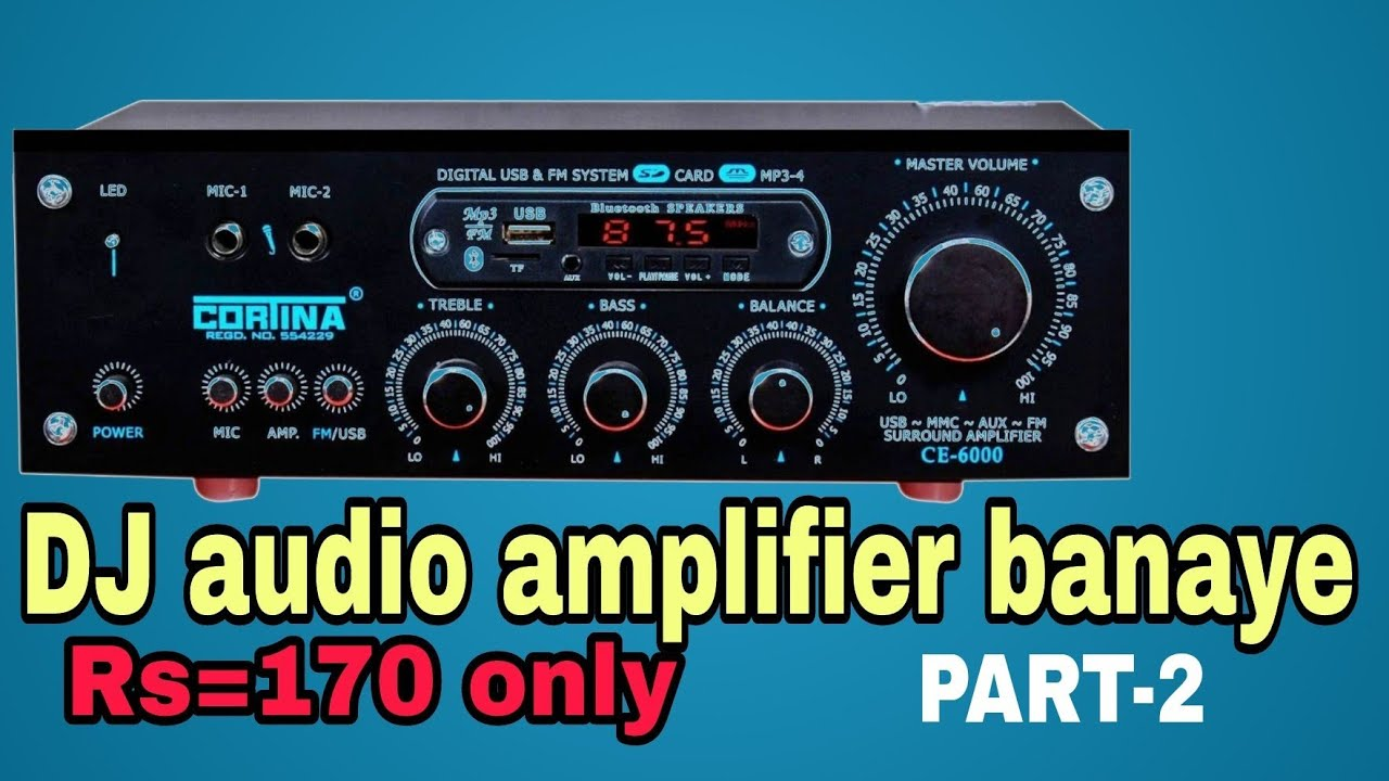 Dj Boofer Kaise Banaye At Home 30w Audio Amplifierin Hindipart 2 Details About Sub 150w Subwoofer Amplifier Board Kit 2sa1943 2sc5200