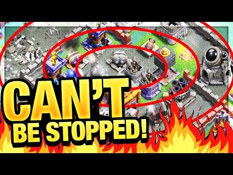 STRONGEST ATTACK in Clash of Clans?! Builder Hall Strategy with BASIC Troops!