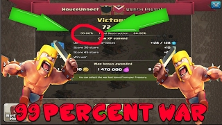 Clash Of Clans - The 99% WAR Recap - 13 Winstreak - Town hall 11 3 Star Attack Strategies
