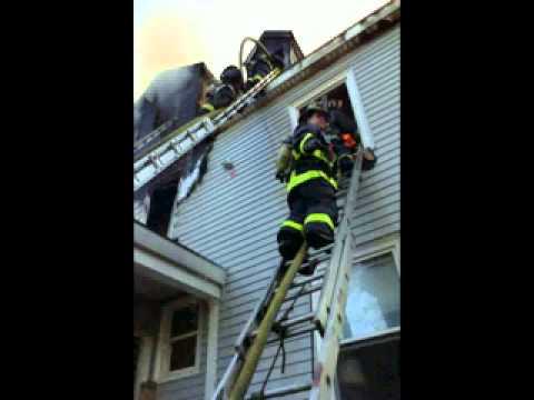 Boston MA Fatal 3 Alarm Fire With 2 Maydays Radio Traffic 4/28/13