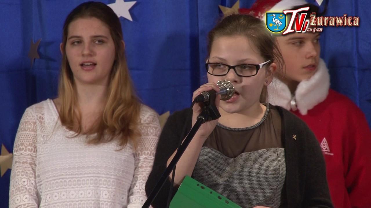 30c9812f62a Wigilia w żurawickim gimnazjum. - YouTube