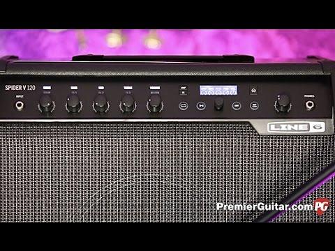 Review Demo - Line 6 Spider V 120