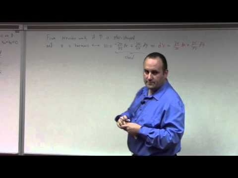 Complex Analysis: Lecture 16: closed forms and harmonic conjugates