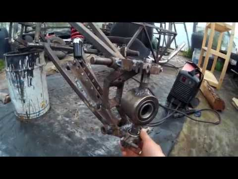 homemade buggy 350cc part 5 (front steering sistem)