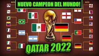 Nuevo Campeón del Mundo QATAR 2022 - PRONÓSTICO