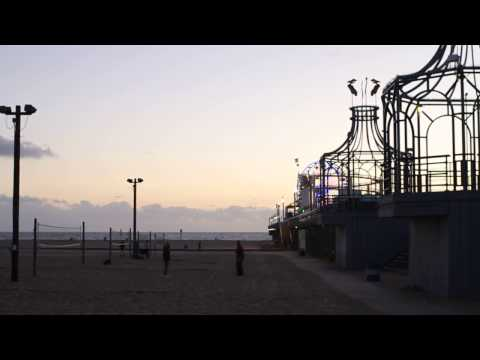 CRAZY HUGE Santa Monica Pier FRONT FLIP [Learn Parkour Now]