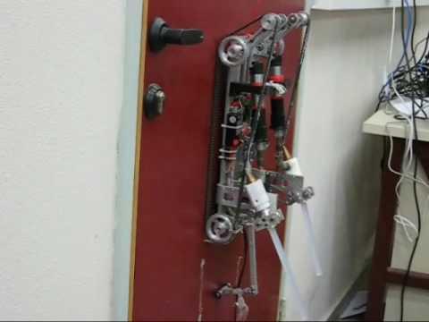 Wall Climbing Robots developed at Ben Gurion University
