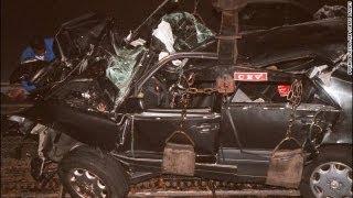 Princess  Diana death:  The scene of the crash