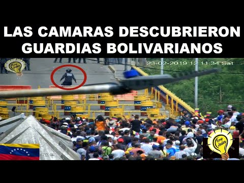 VENEZUELA GUARDIAS BOLIVARIANOS DESCUBIERTOS