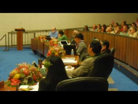 KELLY KING'S FIRST DAY ON THE JOB FOR MAUI COUNTY COUNCIL {2017}