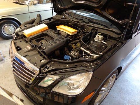 2013 Mercedes Ml350 Fuse Diagram Diy W212 Mercedes E350 Air Filters Replacement Maintenance