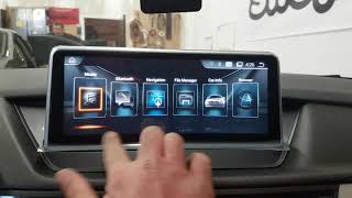 """10.25"""" Android Multimedia screen navigation and backup camera BMW X1 E84"""