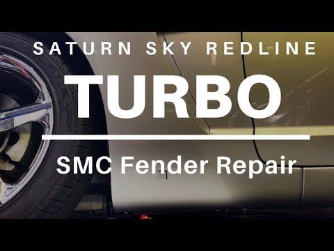 Tim's Garage Episode 18: Saturn Sky SMC Fender Crack Repair