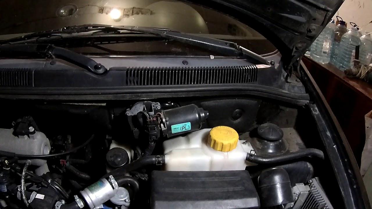 Почему троит двигатель на холодную? Chevrolet aveo