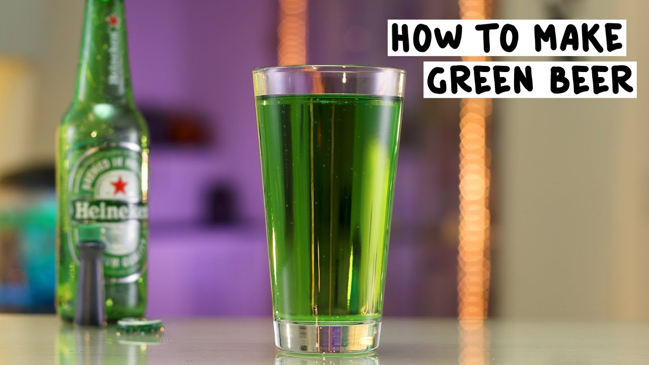 pictures How to Make Green Beer