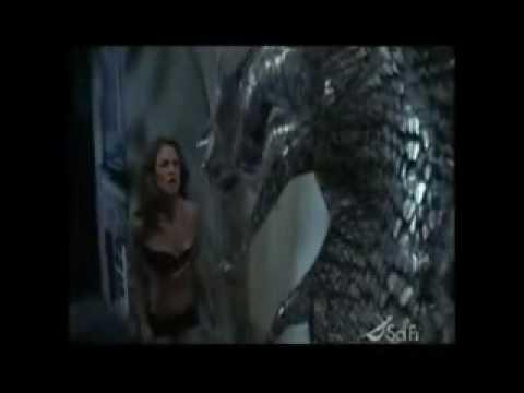 monster eating naked women